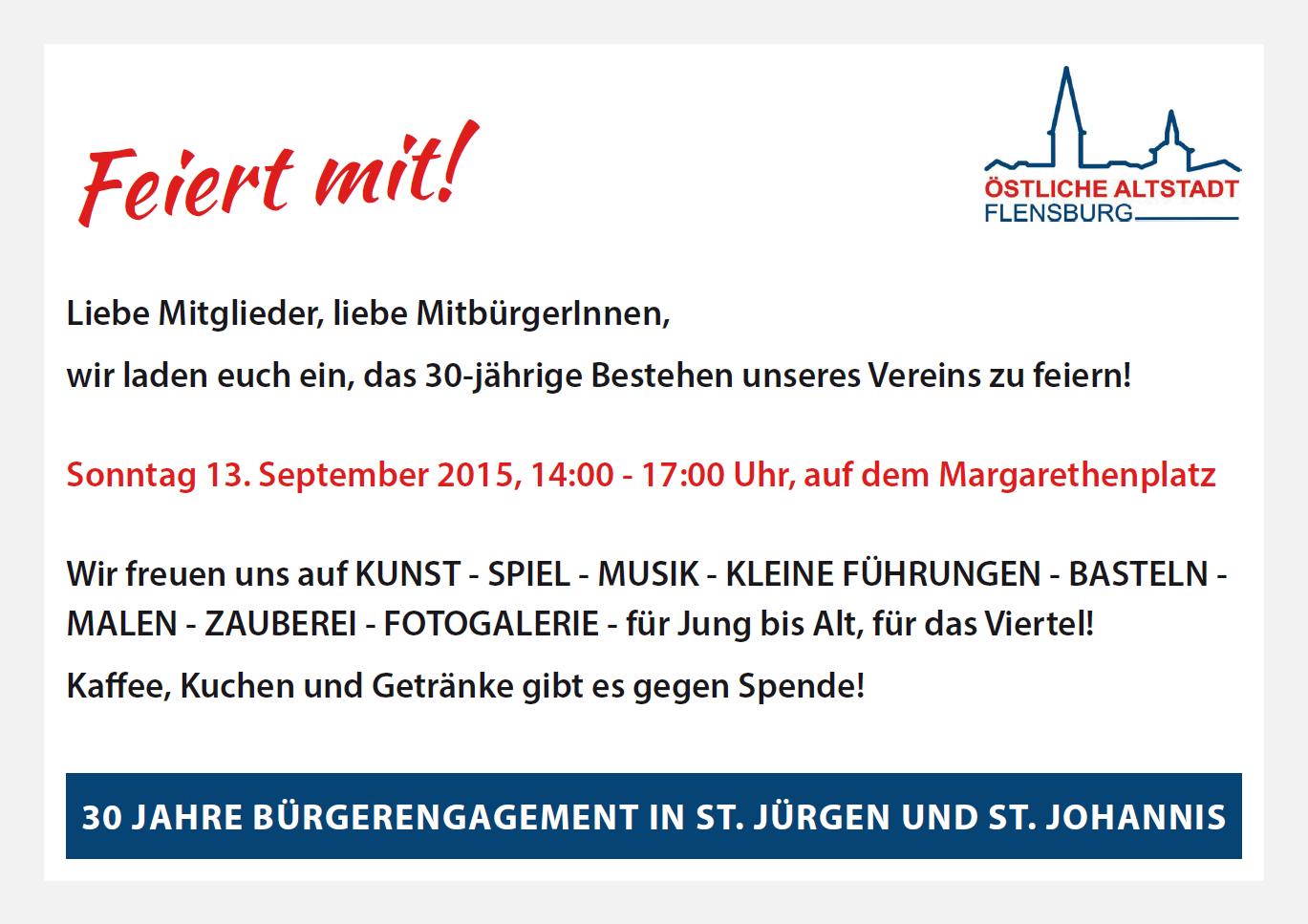 Verein Zur Erhaltung Der Ostlichen Altstadt St Jurgen St