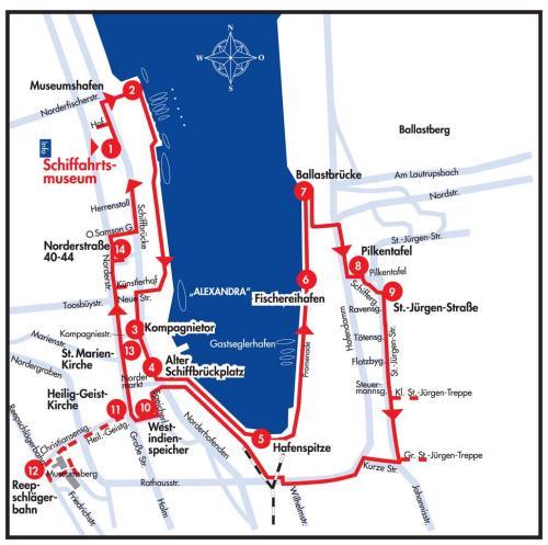 Flensburg Karte.Verein Zur Erhaltung Der östlichen Altstadt St Jürgen St